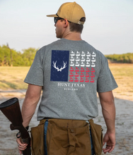 Load image into Gallery viewer, Hunt Texas Flag T-Shirt