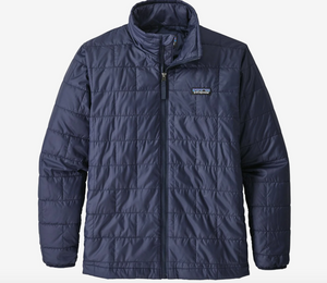 Youth Nano Puff Navy