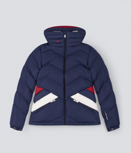 Load image into Gallery viewer, WOMENS APRES DUVET JACKET NAVY
