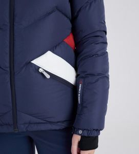 WOMENS APRES DUVET JACKET NAVY