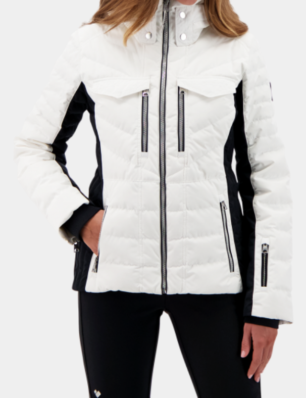 Devon Down Jacket (White)