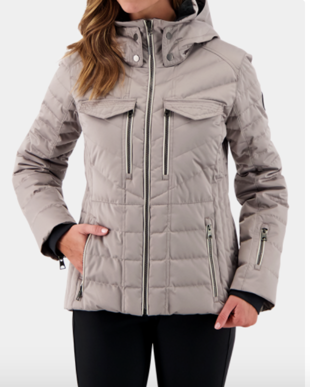Devon Down Jacket (Pewter)