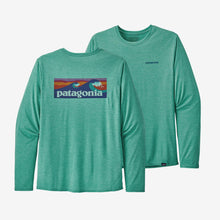 Load image into Gallery viewer, Long-Sleeved Capilene® Cool Daily Graphic Shirt (more colors)