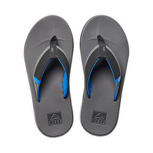 REEF Fanning Low Gray/Blue