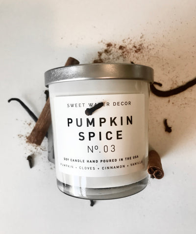 Natural Soy Candle | Pumpkin Spice