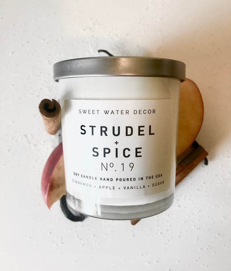 Natural Soy Candle | Strudel + Spice