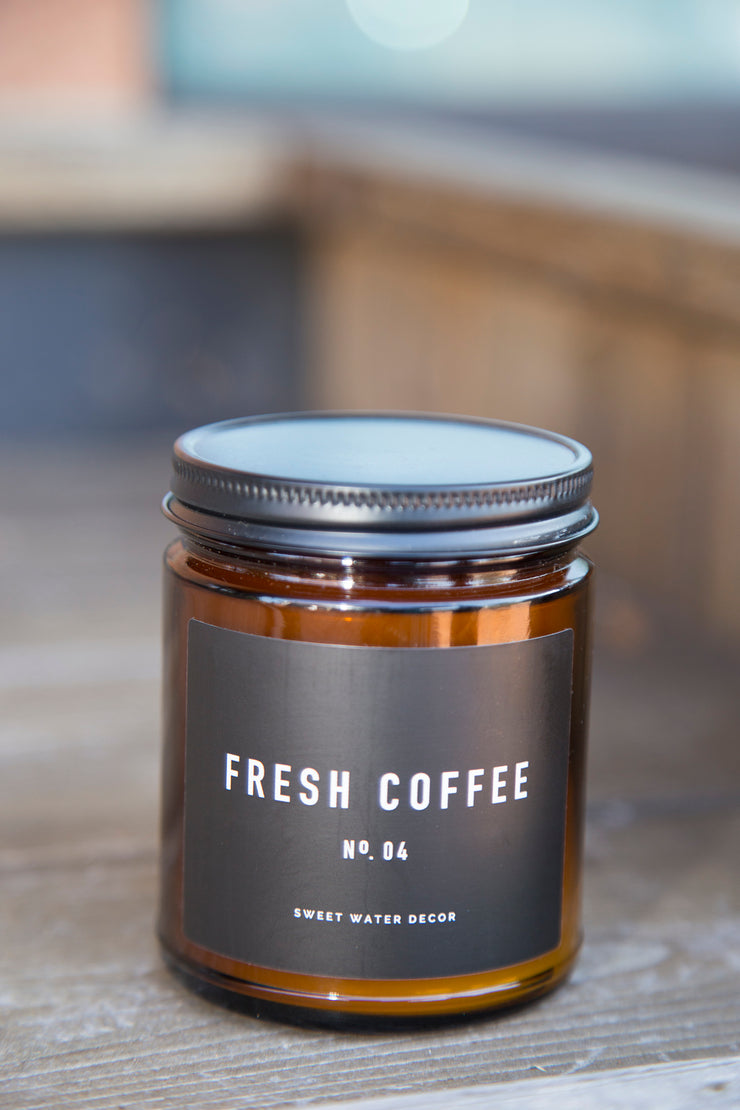 Natural Soy Candle | Fresh Coffee