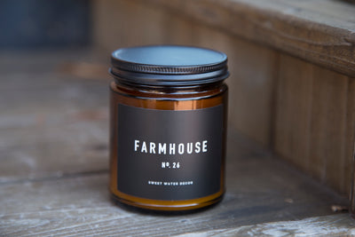 Natural Soy Candle | Farmhouse