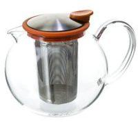 Bola Glass Tea Pot 38 oz.