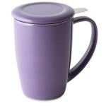 Ceramic Curve Tall Infuser Mug 15 oz.