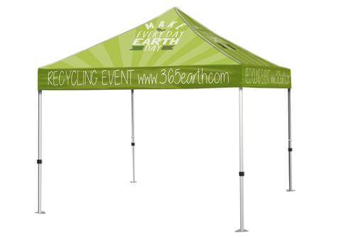 Custom Printed Canopy | Full Color Event Tent | Canopy Graphics Tent Frame + Canopy Graphics / All Locations / 10 foot Event Tent, Event tent - Novo Productions, Novo Productions - 1