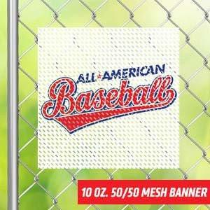 Banner Mesh | Indoor and Outdoor | Mesh Vinyl Banner Banner Mesh / 1' x 1', Banner Print - Novo Productions, Novo Productions
