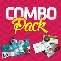 Business Starter Kits | Promote your Business | Get Customers Combo $115 - 1000 BC + 1000 Menus (8.5x11) / Starter Kit / Not included, Combo Printing - Novo Productions, Novo Productions