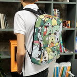 Bags for dog lovers, BackPack, Green