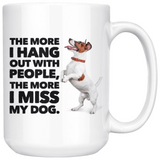 I Miss My Dog Coffee Mug, 15oz