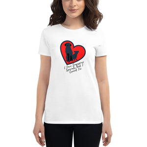I Love Singapore Specials, Women's Short Sleeve T-Shirt, White