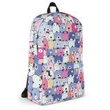 Bags for dog lovers, BackPack, Purple
