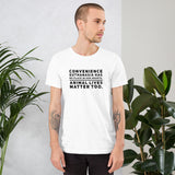 Convenience Euthanasia on Short-Sleeve Unisex T-Shirt, Dog Dad Shirt
