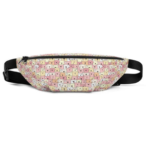 Funny Dogs Pink Fanny Pack