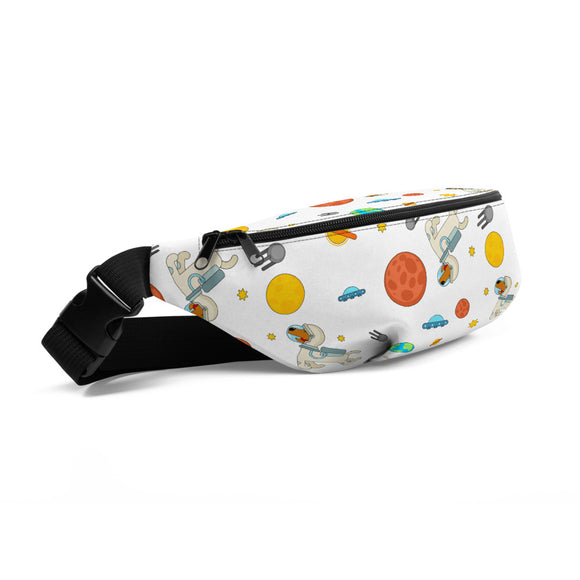 Astronaut Dogs Fanny Pack