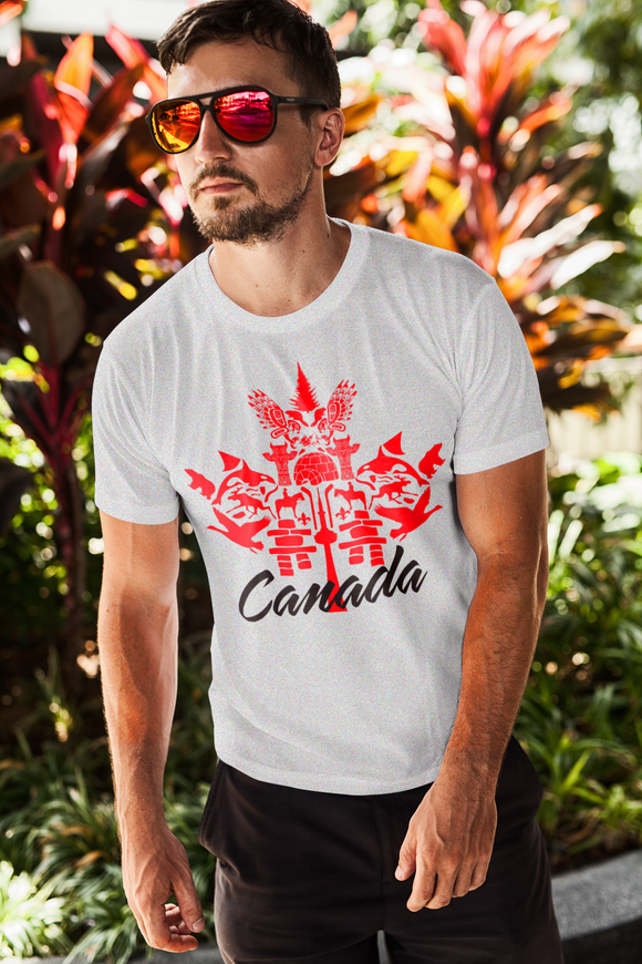 Shades of CANADA Cotton T-shirt