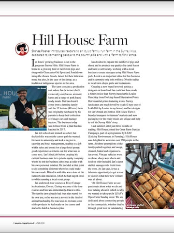 Hill House Farm in the press
