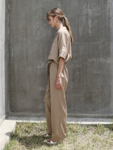 Load image into Gallery viewer, BELTED WORK WEAR JUMPSUIT