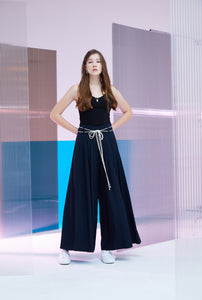 DRAPPED MAXI WIDE PANTS
