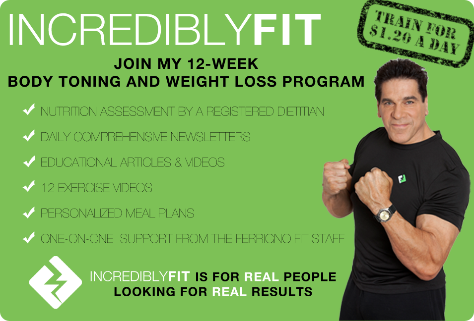 Incredibly FIT 12-Week Fitness Program