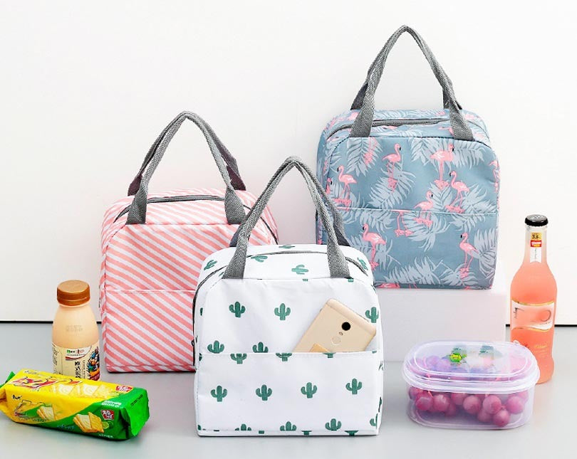 Portable Zipper Lunch Bags