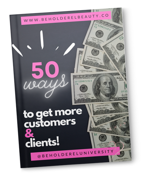 50 WAYS TO GET MORE CUSTOMERS (immediate download)