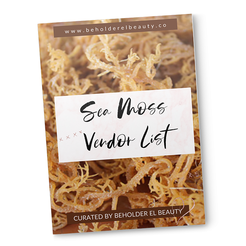 SEA MOSS VENDOR LIST (immediate download)