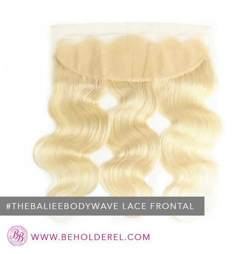 The Baliee Body Wave 613<br>Lace Frontal Closure