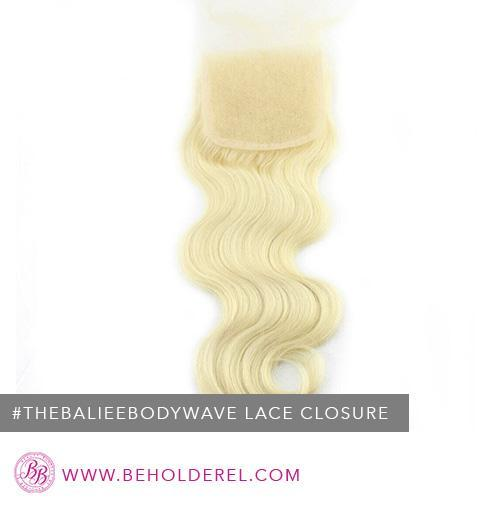 Brazilian Body Wave 613 <br>Lace Closure<br>( The Baliee Body Wave)
