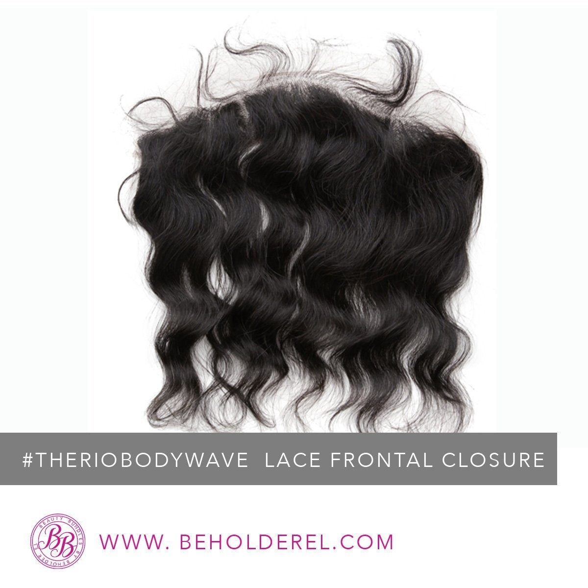 Brazilian Body Wave<br>HD Lace Frontal Closure<br>(The Rio Body Wave Lace Frontal Closure)