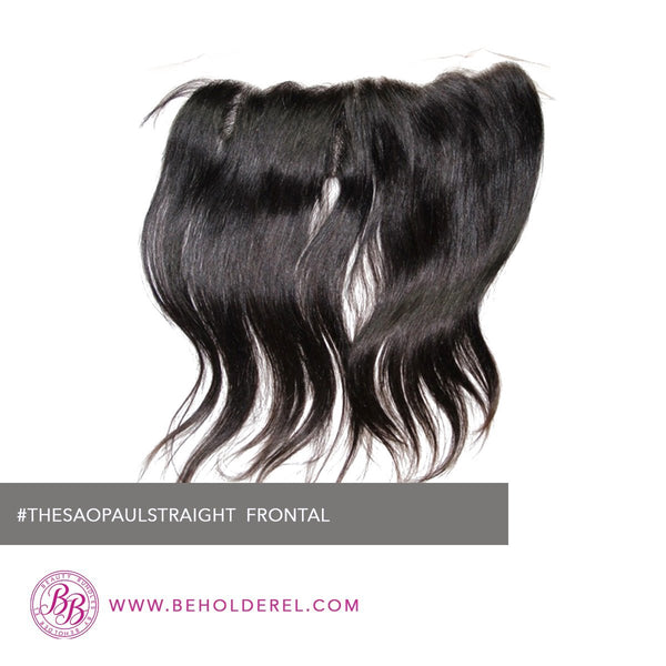 Brazilian Straight<br>HD Lace Frontal Closure<br>(The Sao Paulo Straight Lace Frontal Closure)