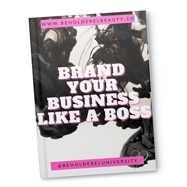 Brand Your Business Like A Boss (immediate download)