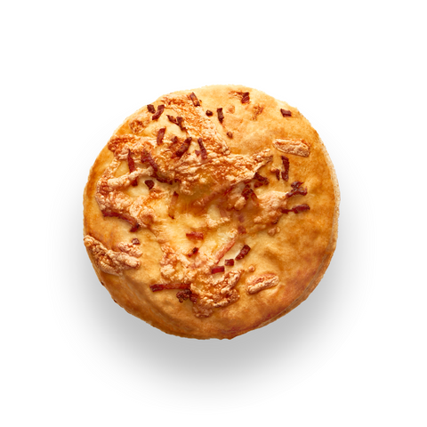 Beef, Cheese & Bacon Pie: lean chunks of beef, cheese and bacon.