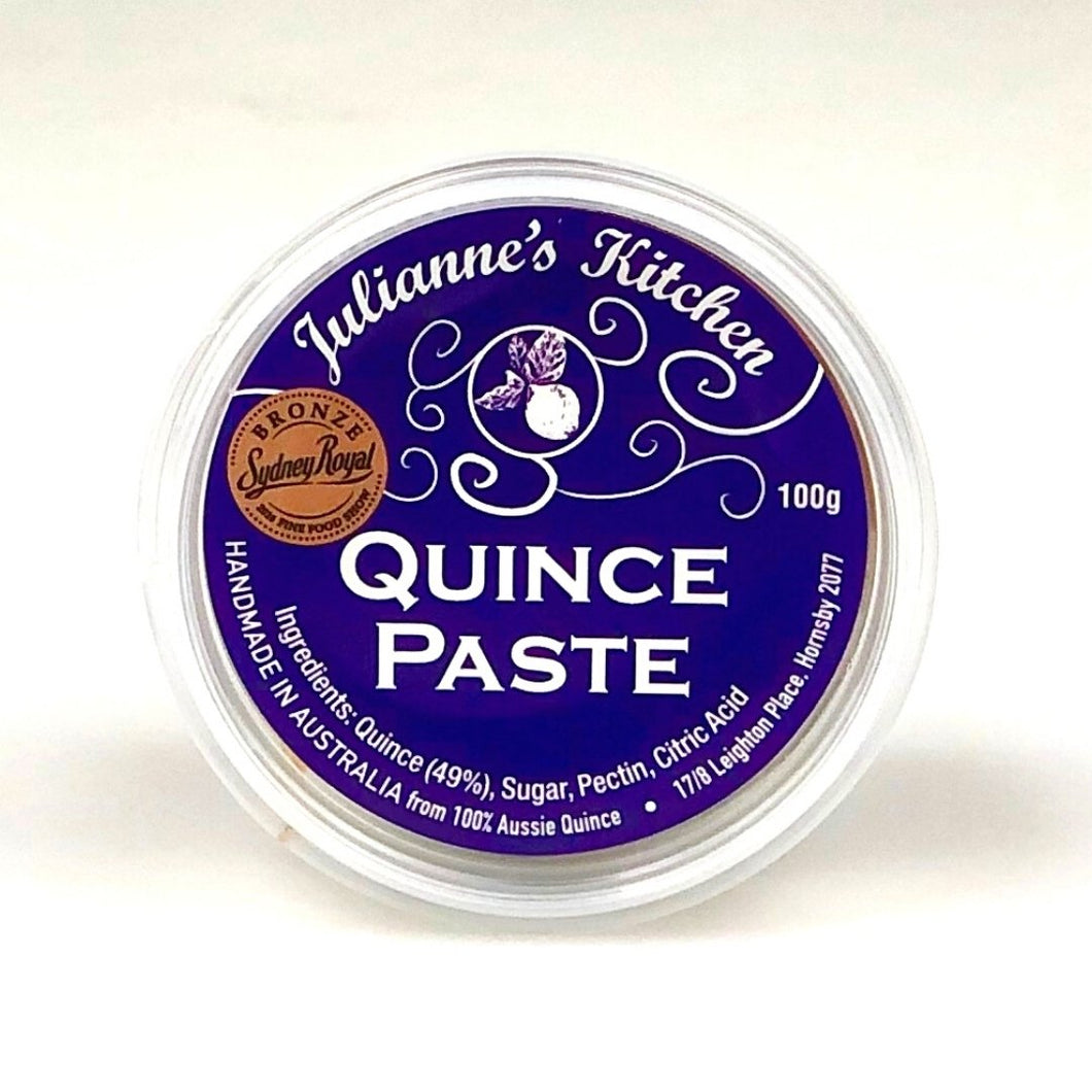 Julianne's Kitchen Quince Paste