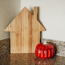 Load image into Gallery viewer, Custom Engraved - House Bamboo Cutting Board