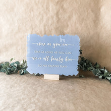 Load image into Gallery viewer, Custom Acrylic Wedding Signs