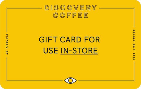 Discovery Coffee Cafes In-Store Gift Cards