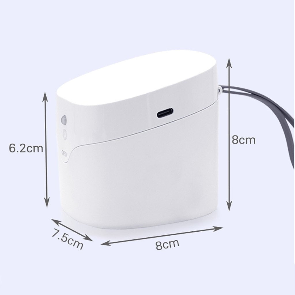 CARRIRA Mini LED UV Portable ultraviolet disinfection box uv, protect your self from covid19 coronavirus, stay home stay safe pinkinblackcom