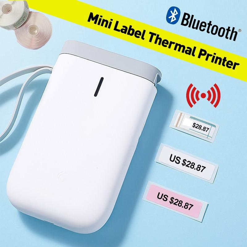 Bluetooth Sticker Portable Thermal Label Printer Accessories pinkinblack.com