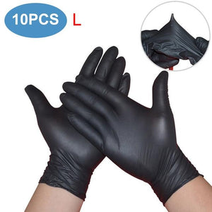 High Quality Disposable Latex Gloves gloves  protect your self from covid19 coronavirus, stay home stay safe pinkinblack.com
