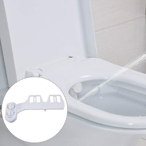 Self Cleaning Hot and Cold Bidet Toilet Seat Water with Retractable Nozzle Clean washer pinkinblack.com