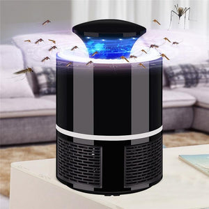 Electric Mosquito Killer Zapper With LED Lamp uv  protect your self from covid19 coronavirus, stay home stay safe pinkinblack.com