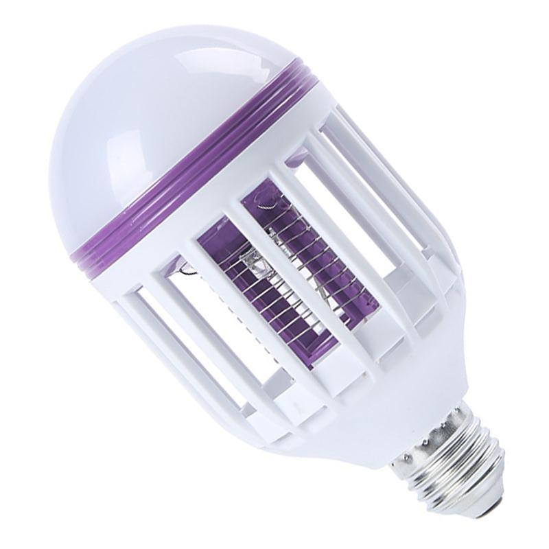 Energy Saver mosquito killer bulbs 2 in 1 Light LED  electric shock home  protect your self from covid19 coronavirus, stay home stay safe pinkinblack.com