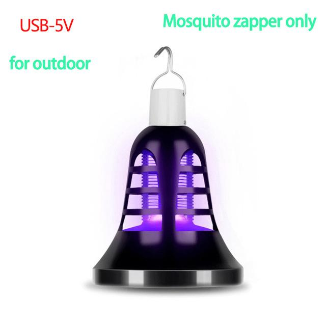 2 In 1 Photo catalytic Led & Anti Mosquito Electric Lamp uv for outdoor pinkinblack.com