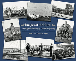 "<h2 style=""color:red;"">NEW! </h1><strong>Images of the Hunt: A Photographic History of Texas Waterfowling (2020)</strong>"